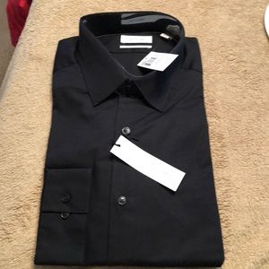 Calvin Klein men's slim fit dress shirt Size 17